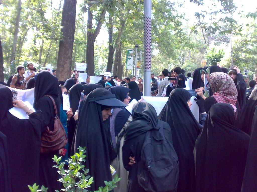 تجمع 3 مرداد مقابل دفتر سازمان ملل 11