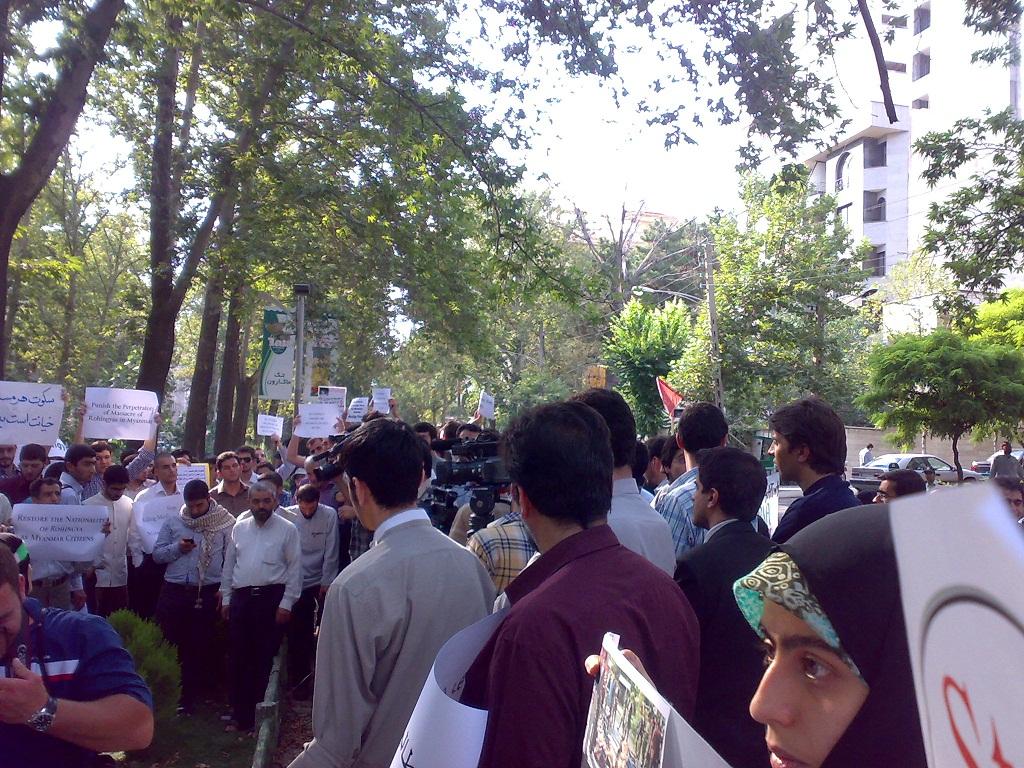تجمع 3 مرداد مقابل دفتر سازمان ملل 10