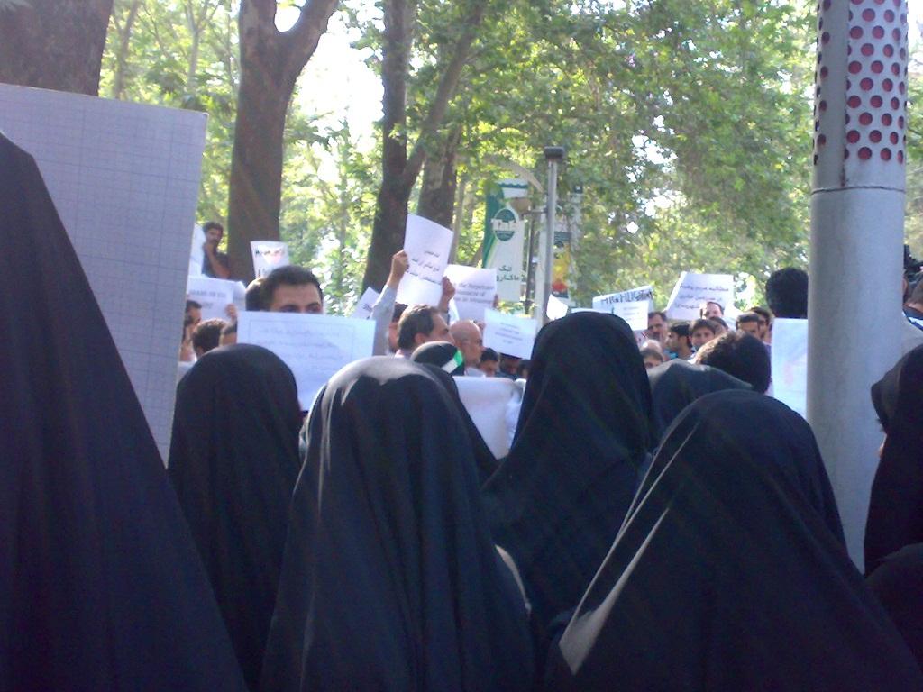 تجمع 3 مرداد مقابل دفتر سازمان ملل 5