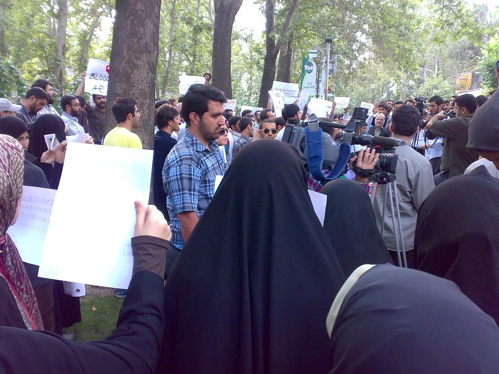 تجمع 3 مرداد مقابل دفتر سازمان ملل 4