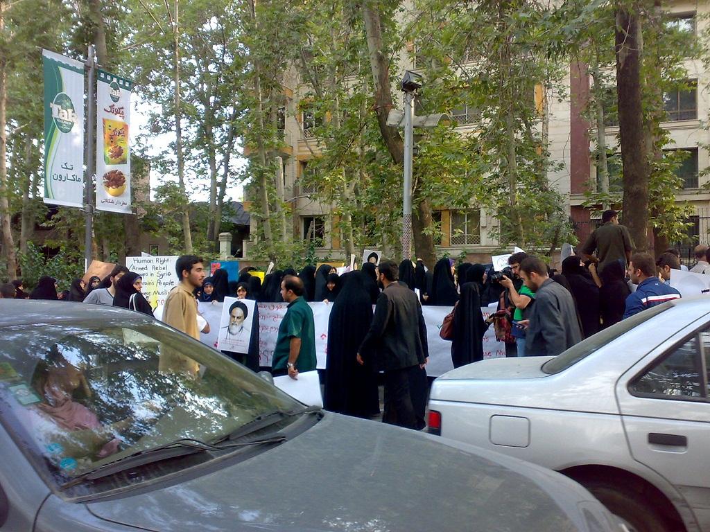 تجمع 3 مرداد مقابل دفتر سازمان ملل 2