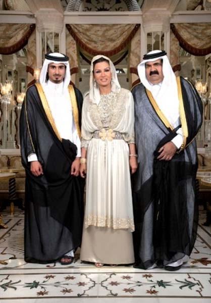 شیخه موزه و امرای قطر